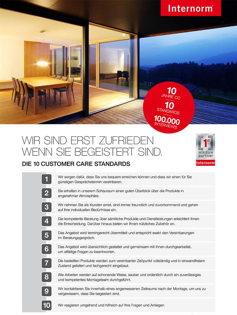 Wima fenster t ren internorm first window partner seit for Fenster care